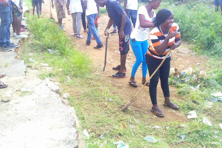 UDS Initiates Student Community Clean-Up Campaign
