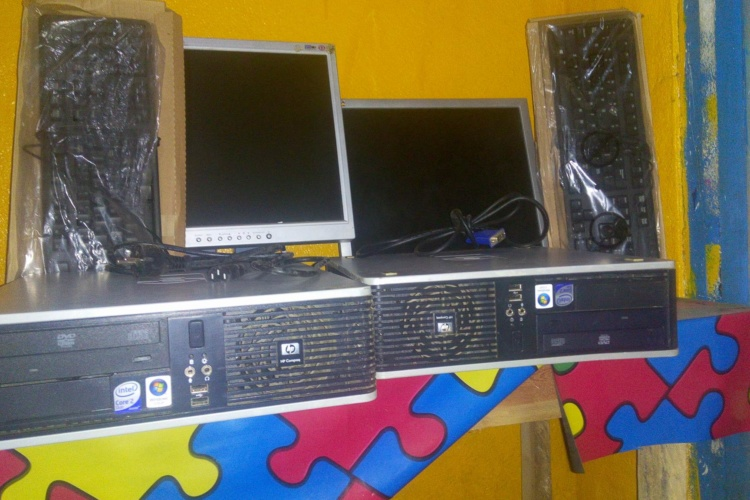 Two New Computers for UDS Training Lab