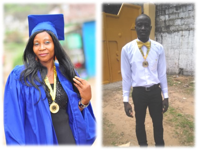 Please Meet Your Graduates, Viola and Anthony