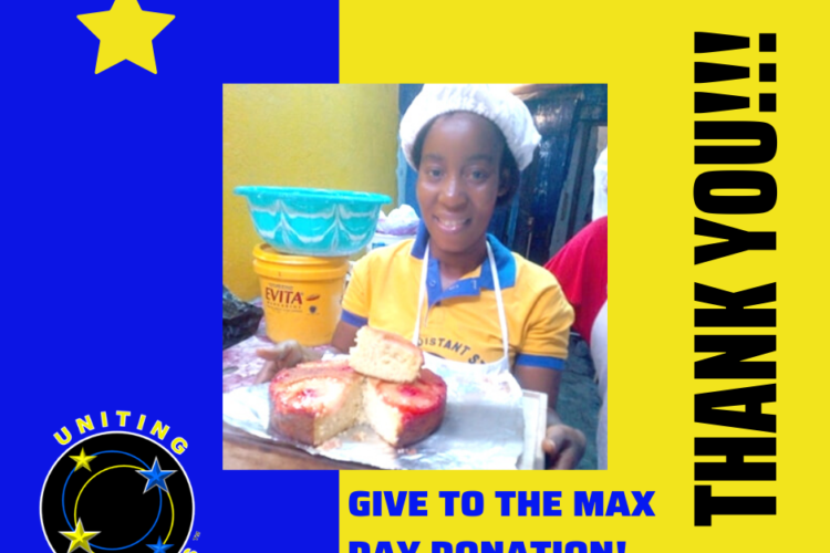 You did it! You Raised $1,300 for Give to the Max Day
