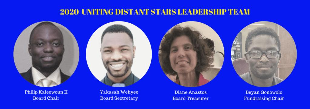 2020 Uniting Distant Stars Leadership Team