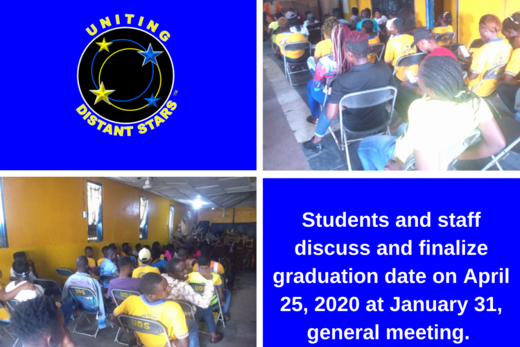 UDS Graduation Set For April 2020