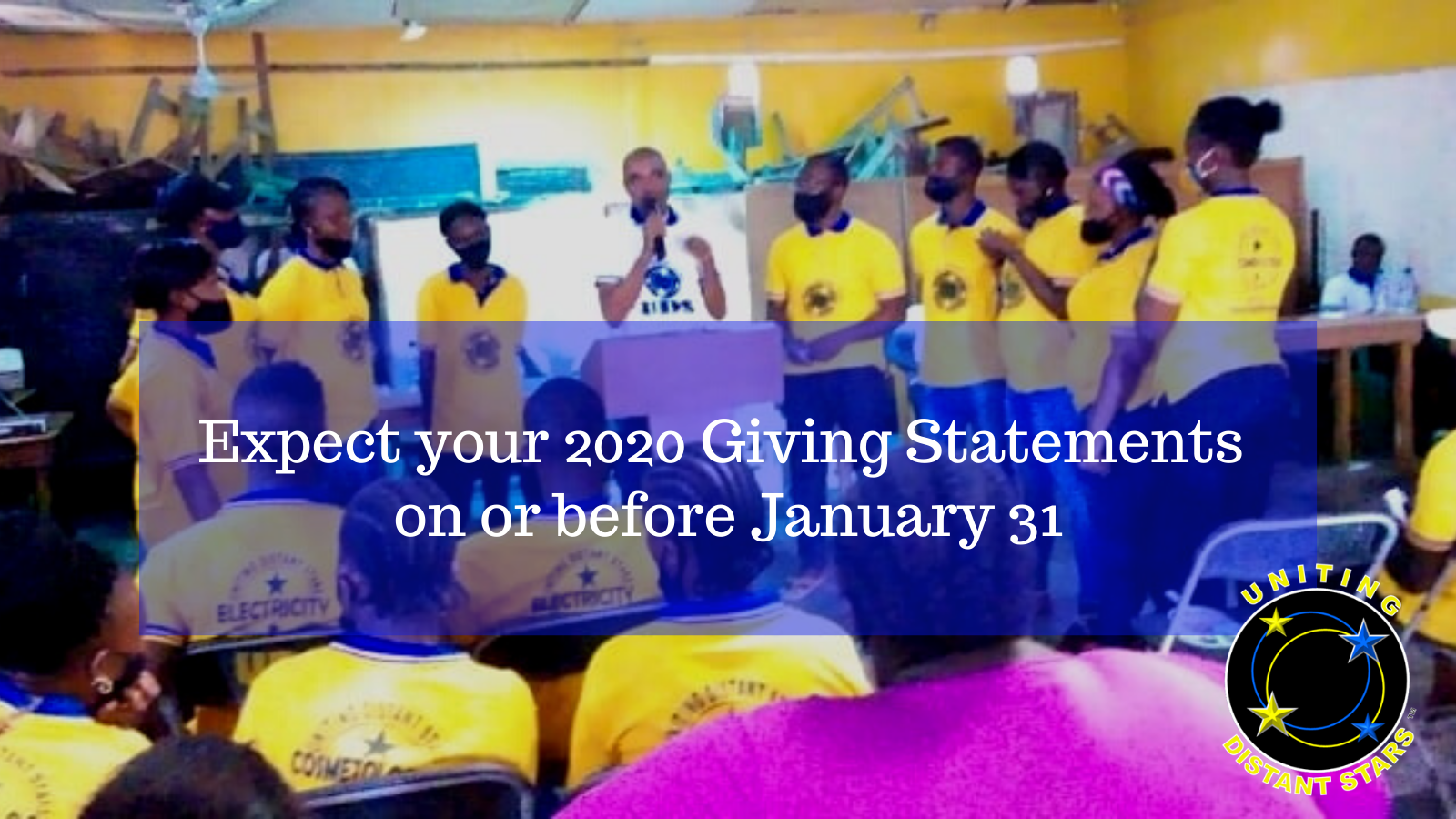 Your 2020 Giving Statements Arrive Soon